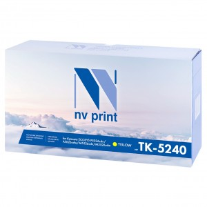 Картридж NV-Print TK-5240Y