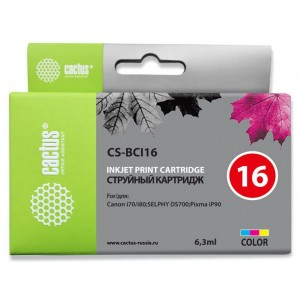 Картридж Cactus CS-BCI16