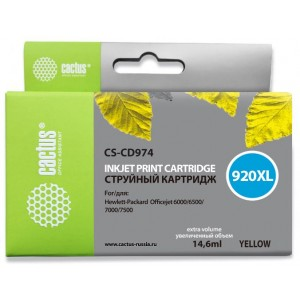 Картридж Cactus CS-CD974 №920XL