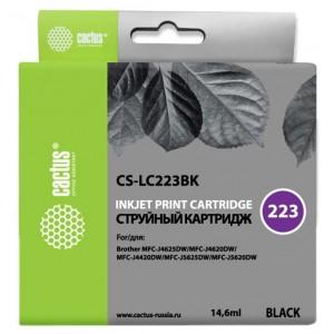 Картридж Cactus CS-LC223BK