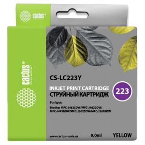 Картридж Cactus CS-LC223Y