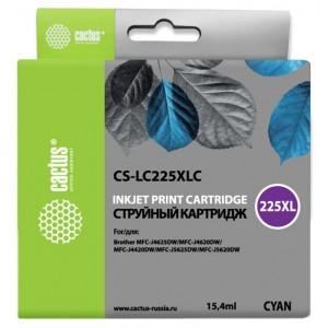 Картридж Cactus CS-LC225XLC