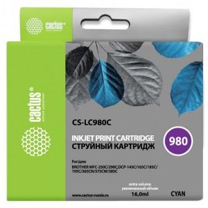 Картридж Cactus CS-LC980C