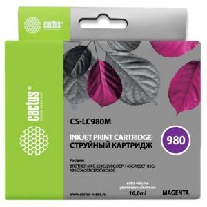Картридж Cactus CS-LC980M