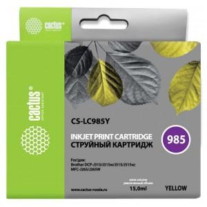 Картридж Cactus CS-LC985Y