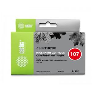 Картридж Cactus CS-PFI107BK