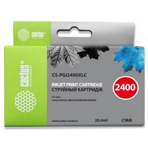 Картридж Cactus CS-PGI2400XLC