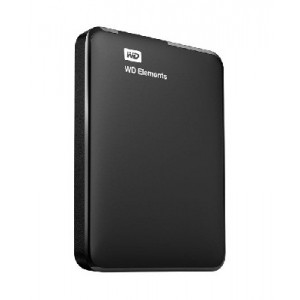 Внешний жесткий диск WD Elements Portable, 1Тб (WDBUZG0010BBK-EESN)