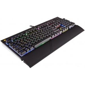Клавиатура Corsair STRAFE RGB — Cherry MX Silent  (CH-9000121-RU)