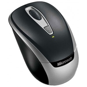 Мышь Microsoft Wireless Mobile Mouse 3000V2 USB (2EF-00034), черный