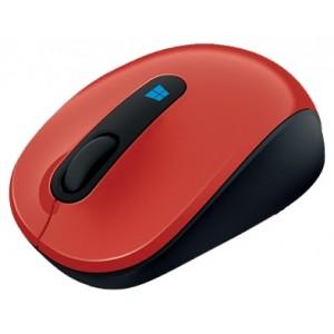 Мышь Microsoft Sculpt Mobile Mouse USB(43U-00026), красный