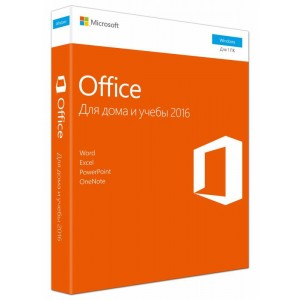 Офисное приложение Microsoft Office Home and Student 2016 (79G-04713)