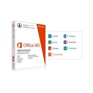 Офисное приложение Microsoft Office 365 Personal 1год BOX (QQ2-00595)