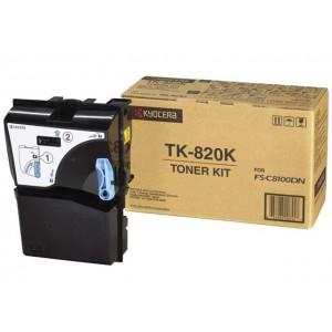 Тонер-картридж Kyocera TK-820K